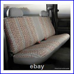 Fia TR49-2 GRAY Custom Front Bench Seat Cover for 95-01 Dodge Ram 1500/2500/3500