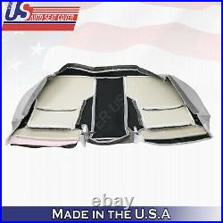 For 2002 to 2006 Lexus ES300 Rear Bottom Bench Perf. Leather Seat Cover Gray