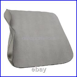 For 2015-2020 Ford F150 Vinyl Center Console Lid Armrest Cover Bench Seat Gray