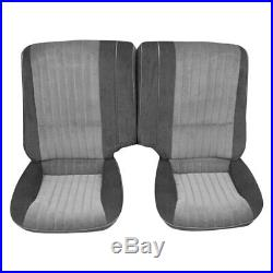 For Pontiac Firebird 85-86 Rear Black Pallex Cloth Fold-Down Bench Seat Cover
