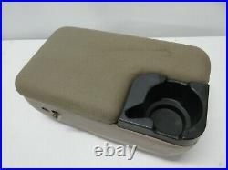 Ford Ranger Mazda B Series 2 Bolt Center Console Arm Rest Cup Holder Tan