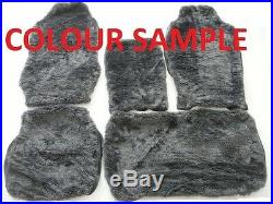 Grey Fur Bench Seat Cover (sheepskin Look)fit Holden Rodeo 1989 2002