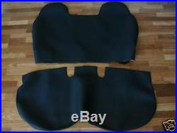 Grey Velour Seat Cover, Tailor Made Toyota Hilux Bench, 1990 1994, Grey
