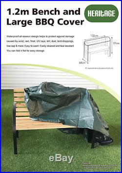 Heritage Garden Bench Seat Cover Heavy Duty Waterproof Rain Dust Protection
