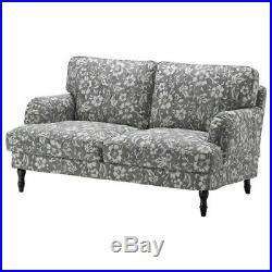 IKEA STOCKSUND Cover Slipcover For 2 Seat Sofa In Hovsten Gray New 403.063.67