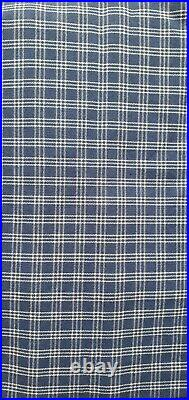 Ikea cover set for Hagalund 2-Seat Sofa Bed in Gingham Blue 601.247.76