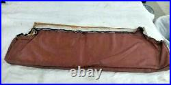 International 79 & 80 Scout II Front Seat Back Cover Russet Nylon/vinyl Nos