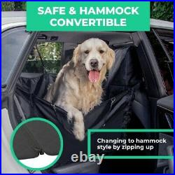 Jeep Rear Seat Dog Cover Pet Large Back Waterproof Bench Protector Truck Suv