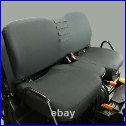 John Deere HD XUV Front Bench Seat Cover. Black Fits 625i 825i 855D 825i-S4 855D
