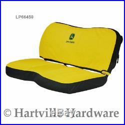 John Deere LP66450 Gator HD XUV Bench Seat Cover, Yellow