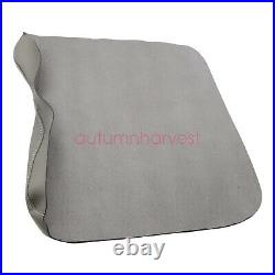 Leather Center Console Lid Armrest Cover Bench Seat For 2015-2020 Ford F150 Gray