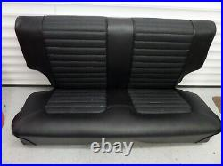 MK 1 Escort Rear Seat Cover set Supplied with correct base cushion