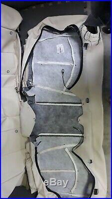 Mercedes MERCEDES-BENZ OEM W211 E350 Seat cover set Factory TAN BEIGE