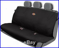 NEW Pet Rear Back Seat Cover Waterproof Dog Car Protector SUV Bench Mat Black