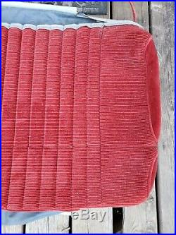 NOS 1988-1994 CHEVROLET Truck Bench Seat Cover Burgandy SILVERADO G. M. C. Pickup