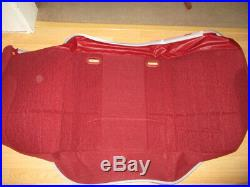 NOS OEM 1992-1994 Ford F150 F250 F350 Bench Seat Cover Scarlett Red F2TZ-1562900