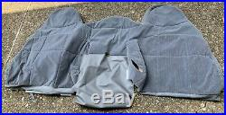 NOS OEM Ford 1992 1996 F150 Truck Bench Seat Cover Cloth Gray 1993 1994 1995
