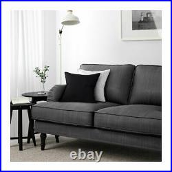 New IKEA cover set for Stocksund 2 seat sofa in NOLHAGA DARK GREY 702.803.37