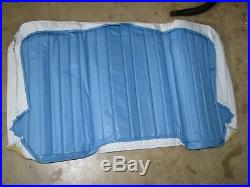 New Nos Genuine Gm 74-75 Chevy Luv Bench Seat Back Cover Vinyl Blue 94025382