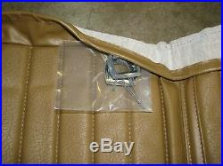 New Nos Genuine Gm 76-77 Chevy Luv Bench Seat Back Cover Vinyl Saddle 94025402