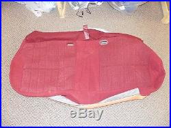 New OEM Ford Bench Seat Cushion Cover Red Bronco Damage