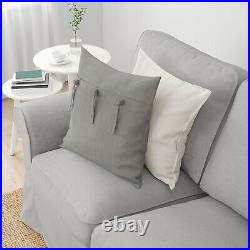New Original IKEA cover set for Ektorp 2 seat sofa in ORRSTA LIGHT GREY