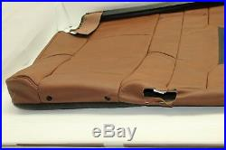 OEM 15-17 ESCALADE 2nd Row 60% Bench Top Seat Cover Brown Vecchio LEATHER