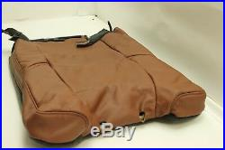 OEM 15-17 ESCALADE 3rd Row Bench Manual Seat Cover Set Brown Vecchio LEATHER