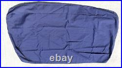 OEM 2015 Boston Whaler 210 Montauk Aft Stern Bench Seat Canvas Storage Cover