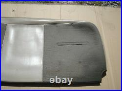 OEM 99-07 Ford F-250 350 Super Duty Crew Cab Rear Full Bench Seat Cover Set