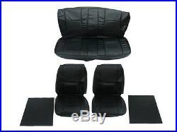 PG Classic 6610-BUK-C 1969 Dart GT, GTS Front Bucket Rear Bench Seat Cover Set