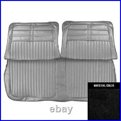 PUI 1963 Chevrolet Impala Black Front Bench Seat Cover 63BS55B