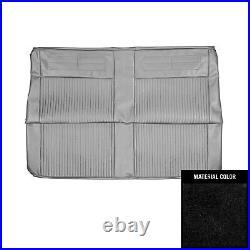 PUI 1963 Chevrolet Nova Convertible Black Rear Bench Seat Cover 63XS55V