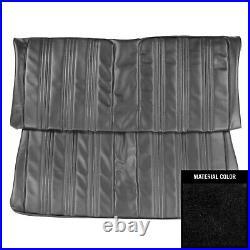 PUI 1967 Oldsmobile Cutlass Sport Sedan Black Rear Bench Seat Cover 67CS10SS