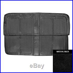 PUI 1969-1970 Chevrolet Truck Black Front Bench Seat Cover 69TS10B