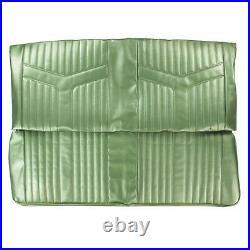 PUI 1969 Pontiac GTO Hardtop Dark Metallic Green Rear Bench Seat Cover