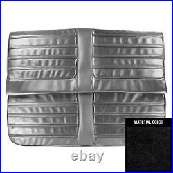 PUI 1971 Oldsmobile Cutlass/S/442 Hardtop Black Rear Bench Seat Cover
