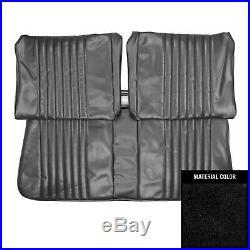 PUI 1973-1974 Nova 2-Door Sedan Standard Black Front Bench Seat Cover