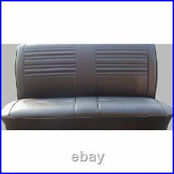 PUI 67AS10B Bench Seat Cover 1967 Chevelle/El Camino Black