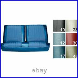 PUI 68AS37B Bench Seat Cover 1968 Chevelle/El Camino White