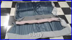 PUI 69AS16C Rear Seat cover Upholstery, 1969 Chevelle Coupe, Dark Blue