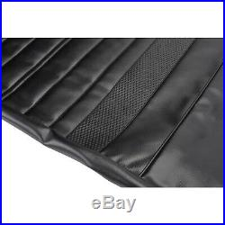 PUI 70AS10C Vinyl Rear Seat Cover Upholstery, 70 Chevy Chevelle Coupe, Black