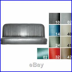PUI 71TS30B Seat Cover 1971-72 Chevy Cheyenne Truck Standard Bench Red