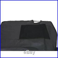 Pet Cargo Liner Travel Hammock Rear Bench Seat Cover For Jeep Wrangler JK 4 Door