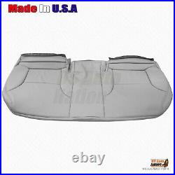 REAR Bench Bottom Perforated Leather Cover For 2002-2006 Lexus ES300 ES330 GRAY