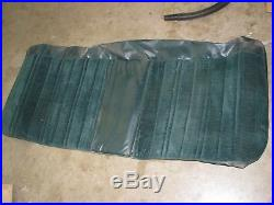 Rare Nos Genuine Gm Bench Seat Cover 77-78 Chevy Truck Velour Green Ck1 Ck2 Ck3