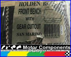 SEAT COVER for HOLDEN RODEO 1988 2003 bench seat with gearshift cut out