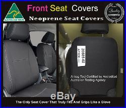 Seat Cover 2008-Now Hyundai iLoad Front Bench Bucket Combo Premium Neoprene