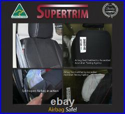 Seat Cover 2013-Now Ford Transit Van Front Bench Bucket Combo Premium Neoprene