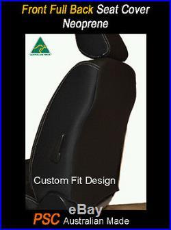 Seat Cover Ford Transit Custom Front Bench Bucket (FB) Premium Neoprene